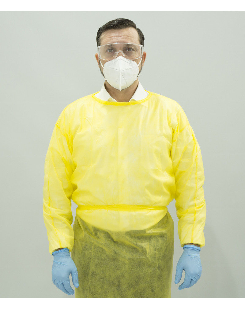 Disposable Sterilized Isolation Gowns Level 1