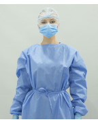 Disposable Non -Sterilized Isolation Gowns Level 2