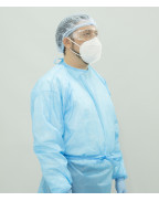 Disposable Non -Sterilized Isolation Gowns Level 3