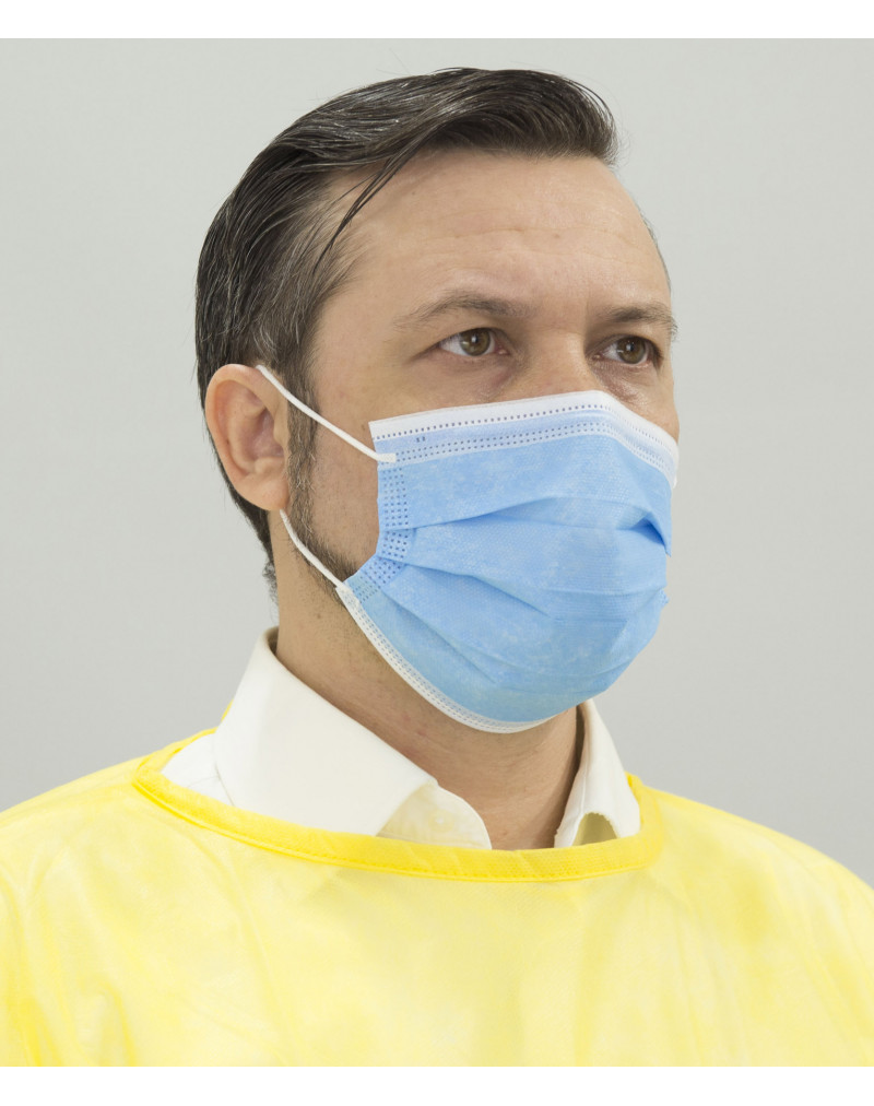 Disposable Earloop Protective Face Mask